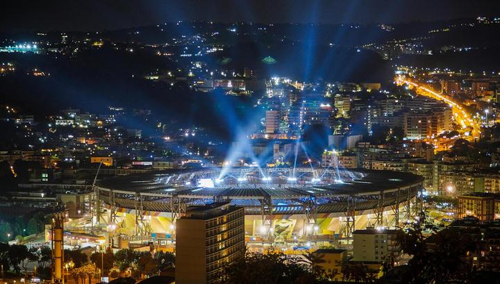 В Неаполе прошла церемония открытия Универсиады