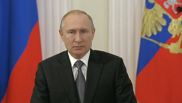Путин: Россия против милитаризации космоса, но спутниковую группировку укрепляет