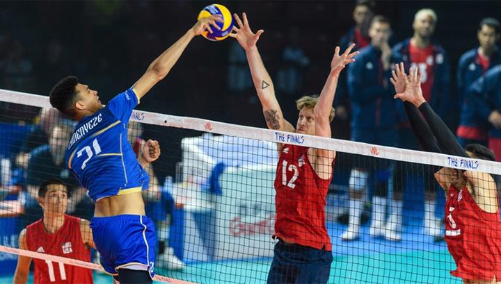 Волейбол. Финал шести Лиги наций стартовал в Чикаго