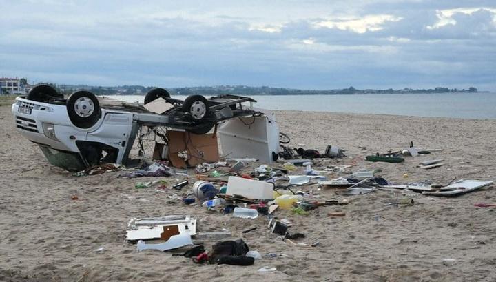 Смертельный шторм: на греческом полуострове Халкидики объявили ЧП