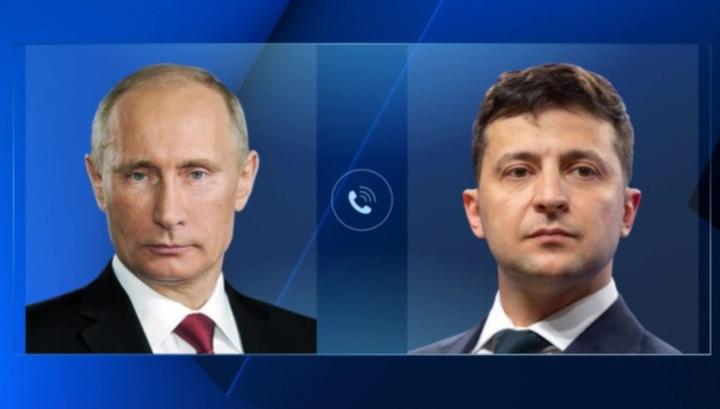Песков рассказал о первом разговоре Путина и Зеленского