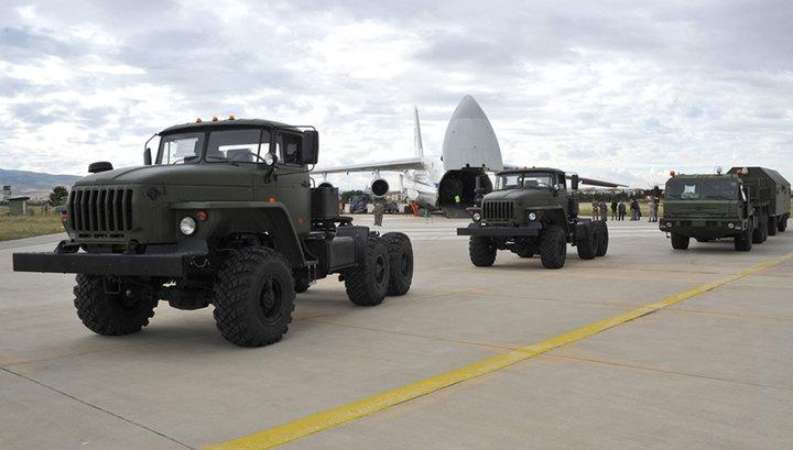 В Турцию доставили четвертую партию компонентов С-400