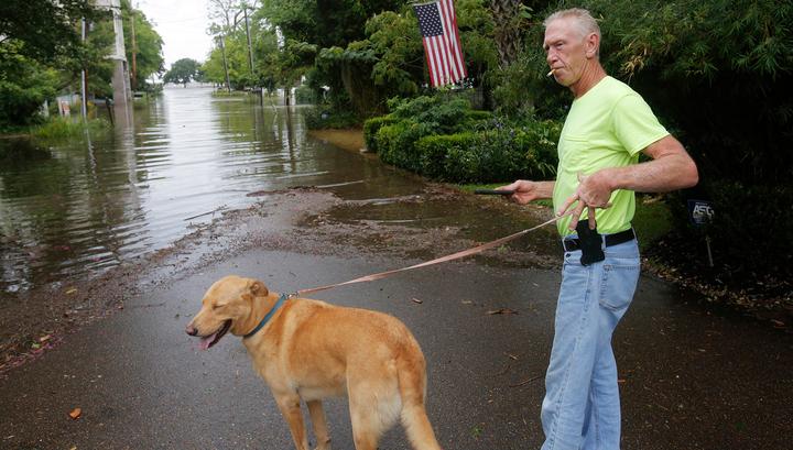 """На Луизиану обрушился ураган """"Барри"""""""