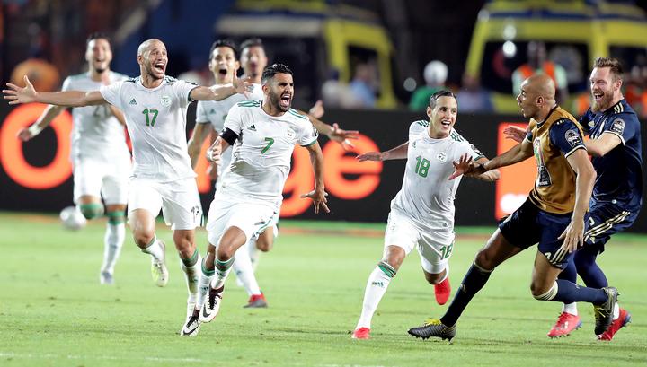 Сборная Алжира - второй финалист Кубка африканских наций