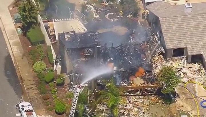 Взрыв газа в жилом доме в Калифорнии: один человек погиб, 15 пострадали