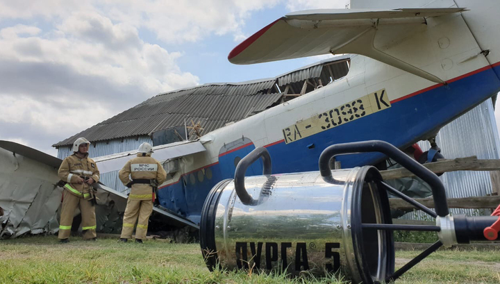 Ошибка пилота: на жилой дом в Чечне упал самолет