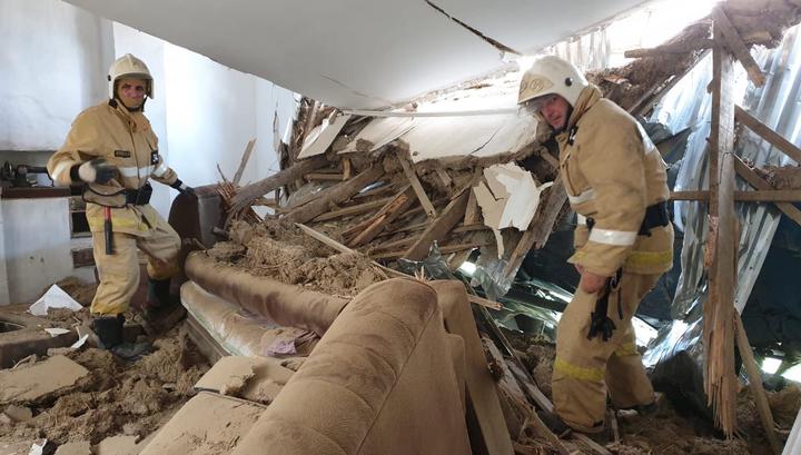Самолет, упавший на дом в Чечне, обесточил три станицы