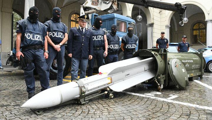 Неонацистский арсенал в Италии: следы ведут на Украину