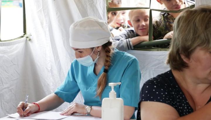 Иркутская область: военные проводят вакцинацию детей-сирот
