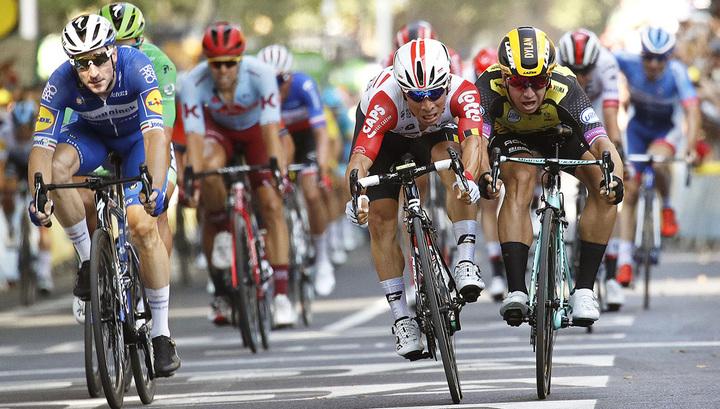 Тур де Франс. Австралиец Юэн победил на 11-м этапе