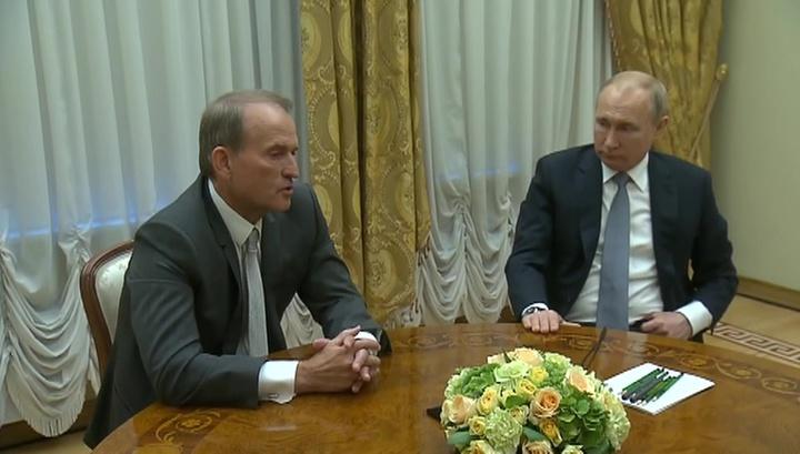 Путин: урегулирование в Донбассе возможно лишь при контактах Киева с ДНР и ЛНР