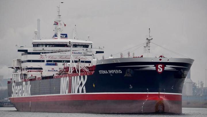 Появилась запись переговоров КСИР с британским танкером
