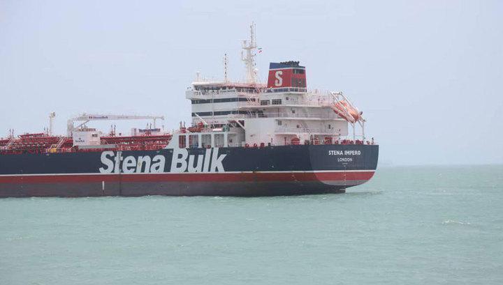 Британский танкер вышел из иранского порта