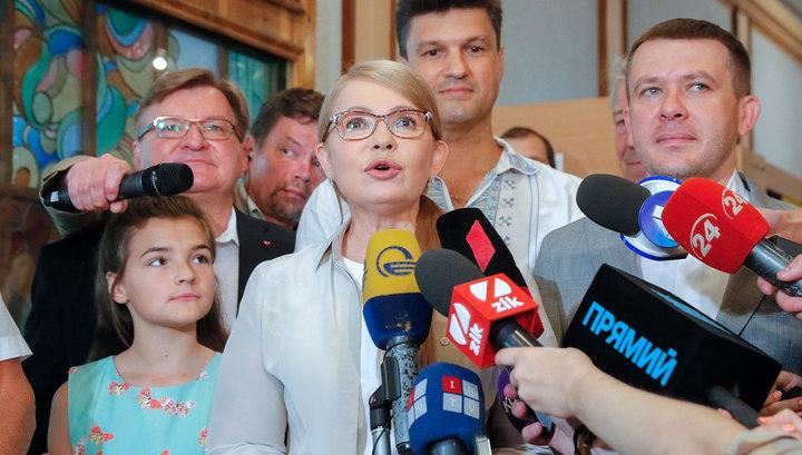 Зеленский, Порошенко и Тимошенко проголосовали и сделали заявления