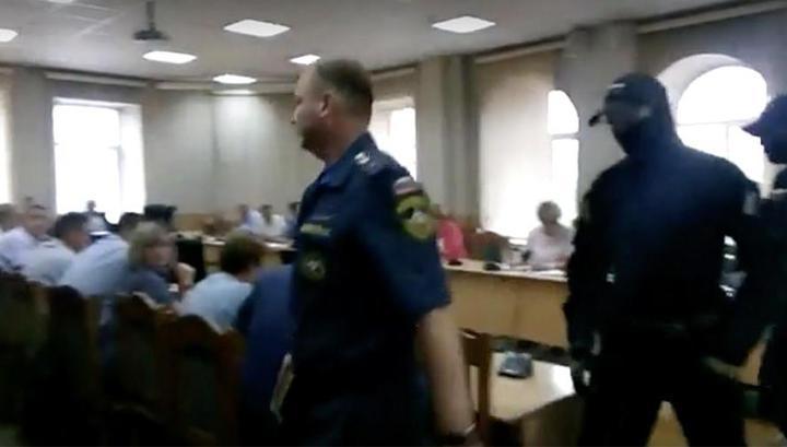 В мэрии Читы задержан сотрудник МЧС