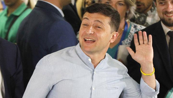 Украина: партия Зеленского набирает 43% голосов