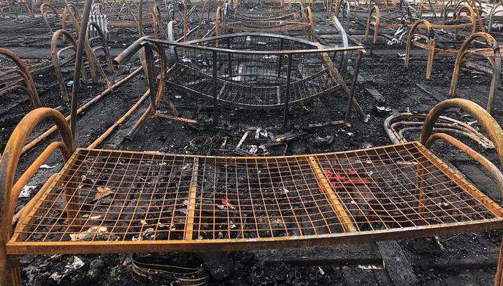 """После пожара в лагере """"Холдоми"""" умер четвертый ребенок"""