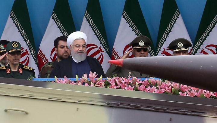 Иран произвел запуск баллистической ракеты