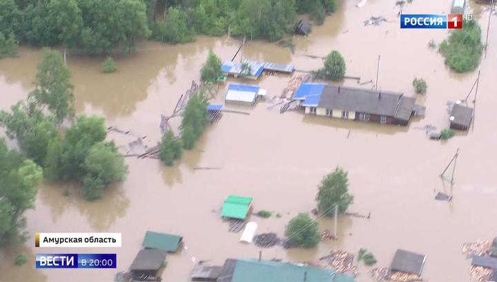 Паводок на Дальнем Востоке: жители сел не хотят спасаться