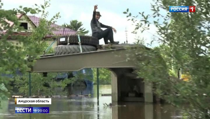 Паводок: Приамурью угрожает новый циклон