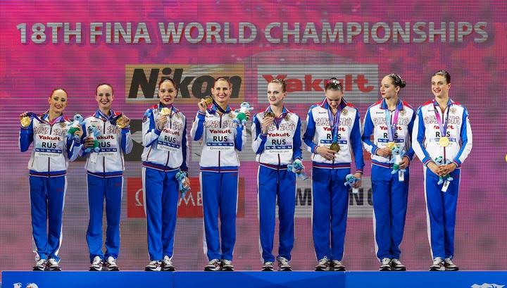 Сборная России стала третьей в общем зачете чемпионата мира по водным видам спорта