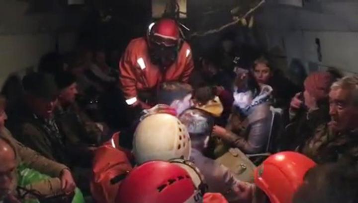 В Иркутской области идет эвакуация людей