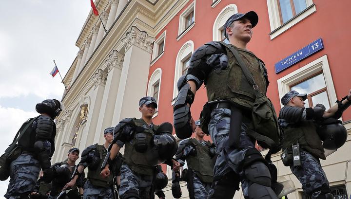 СКР возбудил дело о массовых беспорядках в центре Москвы