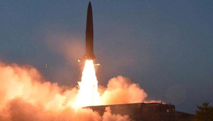 Северная Корея произвела запуск нескольких снарядов