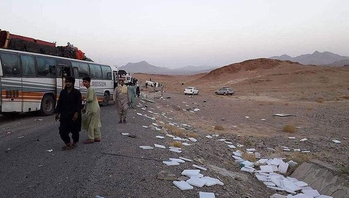 Взрыв в Афганистане: 34 человека погибли, 17 получили ранения