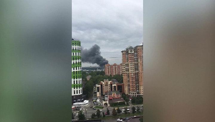Пожар на мебельной фабрике в Одинцово ликвидирован