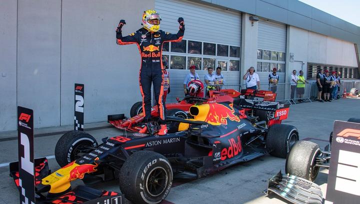 Ферстаппен в Венгрии завоевал первый поул в Формуле-1, Квят – 13-й