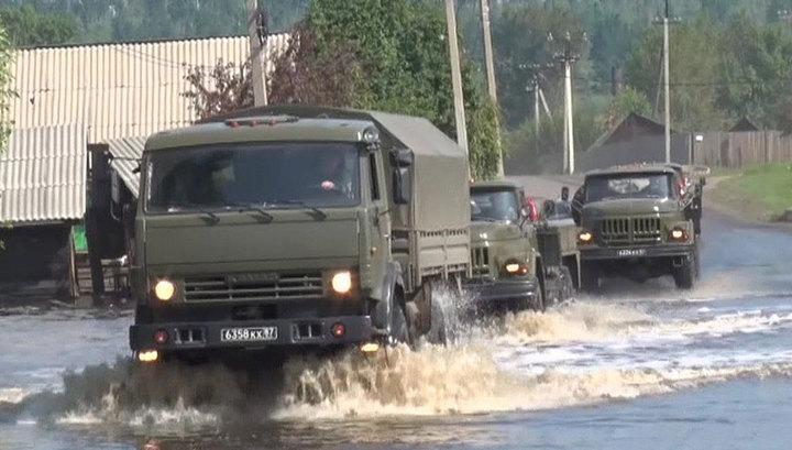Паводок под Иркутском идет на спад: в домах воды уже нет