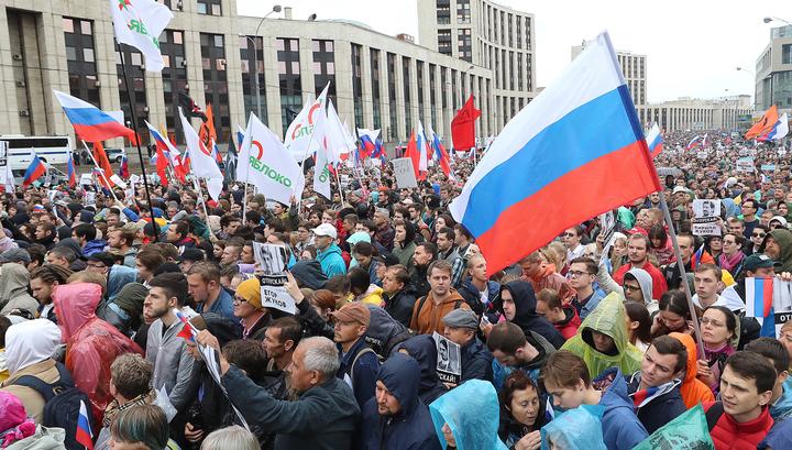 Полиция насчитала 15 тысяч участников акции на Сахарова