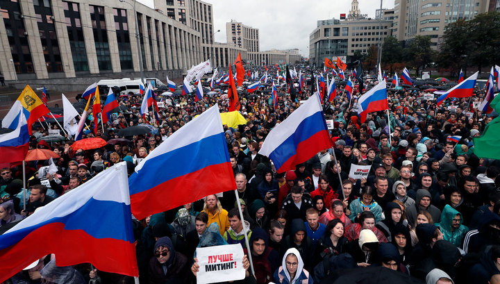 20 тысяч человек: московская полиция уточнила численность участников акции