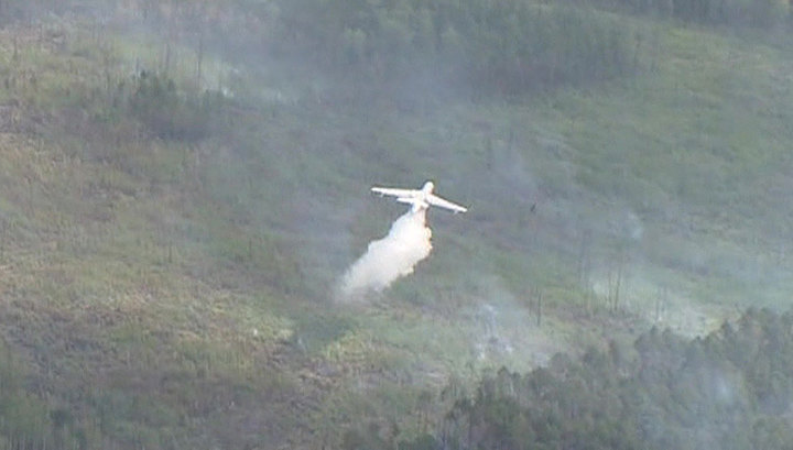 МЧС: высока вероятность возникновения новых пожаров в Сибири и на Дальнем Востоке