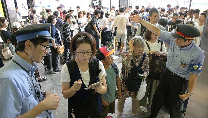 """В Японии 570 тысяч жителей готовятся к эвакуации из-за тайфуна """"Кроса"""""""