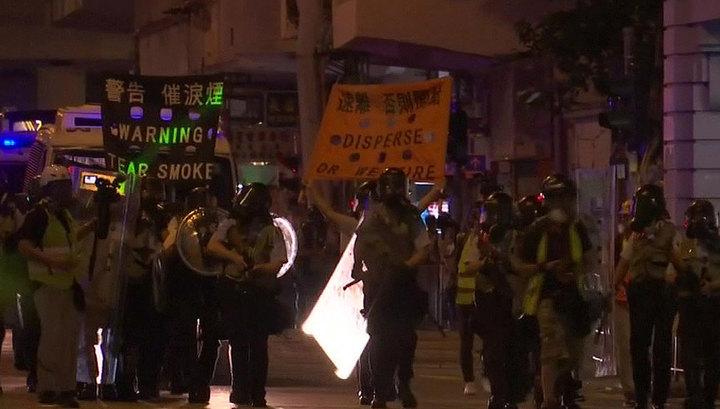 Массовые протесты в Гонконге продолжаются