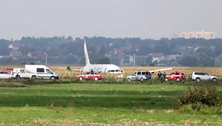 Жесткая посадка в кукурузу: следственные действия завершены, 23 августа самолет разрежут