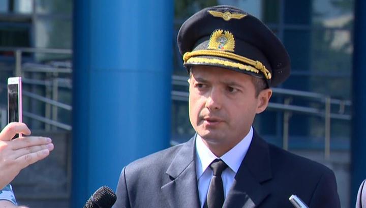 Героический пилот A321 Дамир Юсупов обратился к пассажирам