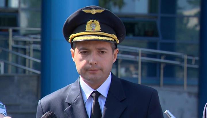 Капитан аварийного Airbus Дамир Юсупов вернулся в небо, Георгий Мурзин продолжает лечение