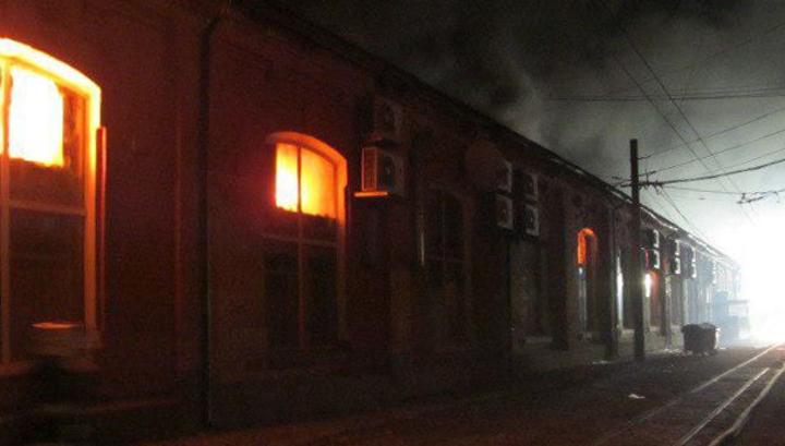 Пожар в одесском отеле унес жизни 8 человек