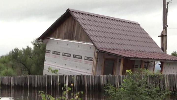 Вода в районе Хабаровска продолжает прибывать