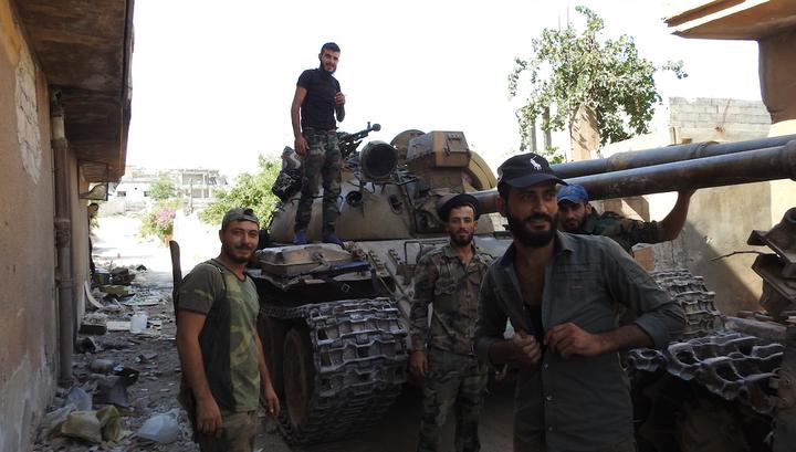 Сирийская армия отрезала туркам доступ к Хан-Шейхуну