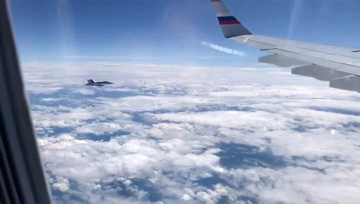 Акт гостеприимства: швейцарские истребители сопроводили самолет с российской делегацией