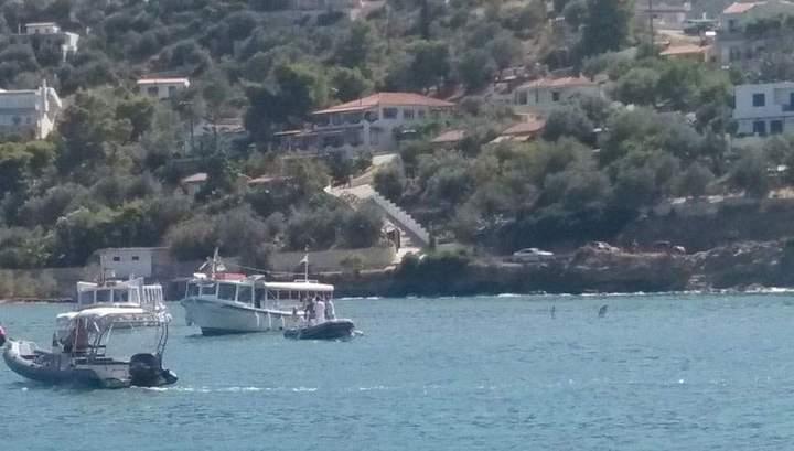 У острова Порос упал вертолет с двумя русскими и греком