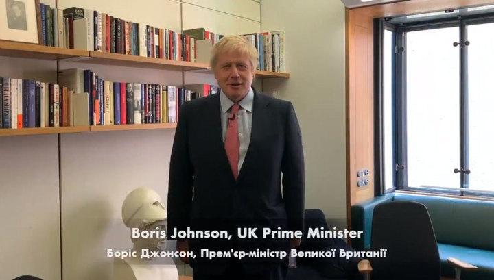 Борис Джонсон попал на видео с лозунгом нацистов
