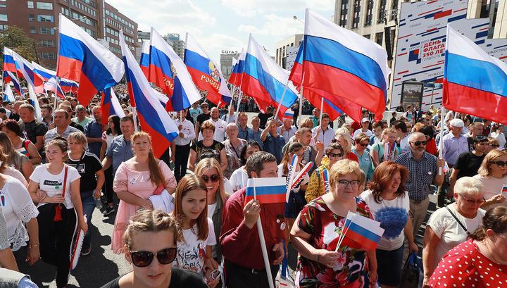 Митинг-концерт на Сахарова собрал более 100 тысяч гостей
