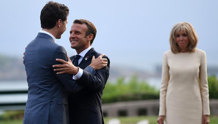 """Лидеры G7 обсудили вопрос возвращения России к формату """"Большой восьмерки"""""""