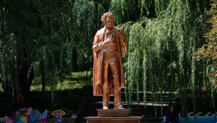 В Донецке появился распечатанный на 3D-принтере Пушкин