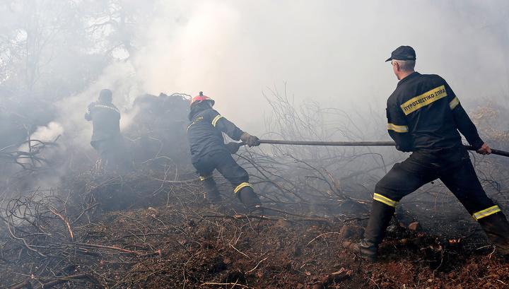 В Греции локализовали лесные пожары на острове Самос